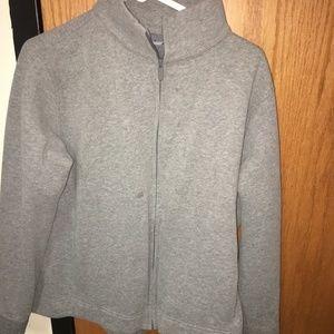 Grey Lululemon Zip Up Jacket